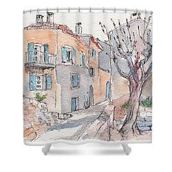 Menerbes Shower Curtain