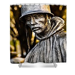 Mental Seclusion Shower Curtain by Christopher Holmes
