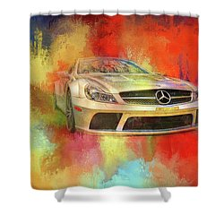 Merc Hot Rod Shower Curtain