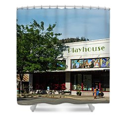 Merc Playhouse In Twisp Shower Curtain