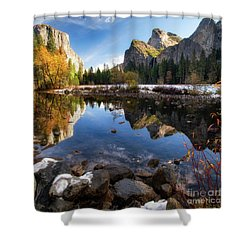 Merced Reflections Shower Curtain
