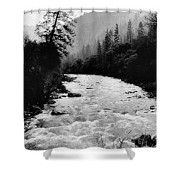 Merced River Canyon Shower Curtain