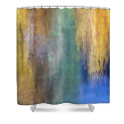 Merced River Reflections 17 Shower Curtain