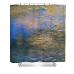 Merced River Reflections 18 Shower Curtain