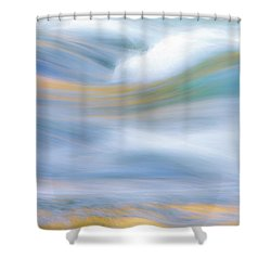 Merced River Reflections 19 Shower Curtain