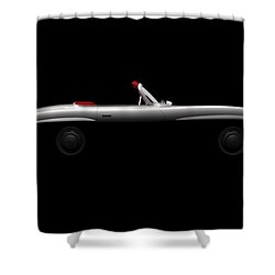 Mercedes 300 Sl Roadster - Side View Shower Curtain