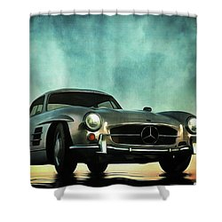 Mercedes 300sl Shower Curtain