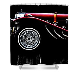 Mercedes Benz Ssk  Shower Curtain by Bob Orsillo