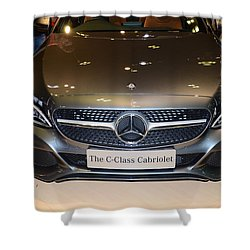 Mercedes Cabriolet Shower Curtain