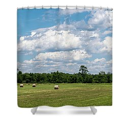 Mercer County Landscape Shower Curtain