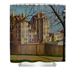 Mercer Museum Shower Curtain