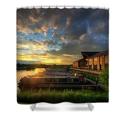 Shower Curtain featuring the photograph Mercia Marina 10.0 by Yhun Suarez
