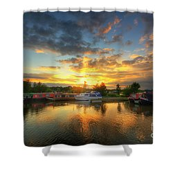 Shower Curtain featuring the photograph Mercia Marina 11.0 by Yhun Suarez