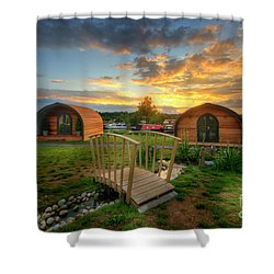 Shower Curtain featuring the photograph Mercia Marina 12.0 by Yhun Suarez