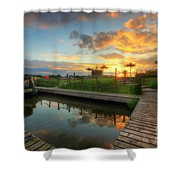 Shower Curtain featuring the photograph Mercia Marina 13.0 by Yhun Suarez
