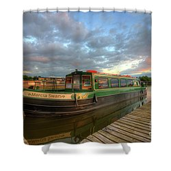 Shower Curtain featuring the photograph Mercia Marina 14.0 by Yhun Suarez