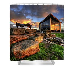 Shower Curtain featuring the photograph Mercia Marina 15.0 by Yhun Suarez