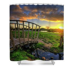 Shower Curtain featuring the photograph Mercia Marina 16.0 by Yhun Suarez