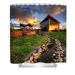 Shower Curtain featuring the photograph Mercia Marina 17.0 by Yhun Suarez