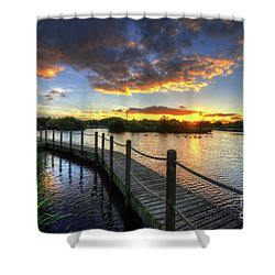Shower Curtain featuring the photograph Mercia Marina 18.0 by Yhun Suarez