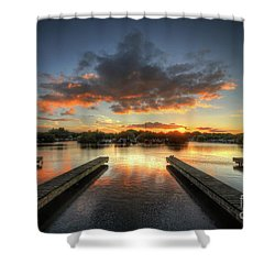 Shower Curtain featuring the photograph Mercia Marina 19.0 by Yhun Suarez