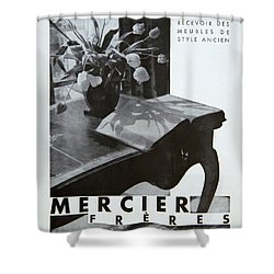 Mercier #8699 Shower Curtain