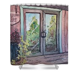 Mercier Orchards' Cider Shower Curtain