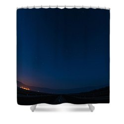 Mercury, Venus, Mars, Saturn And Venus 2016 Shower Curtain
