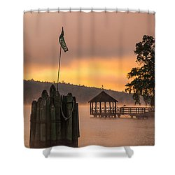 Shower Curtain featuring the photograph Meredith New Hampshire by Robert Clifford