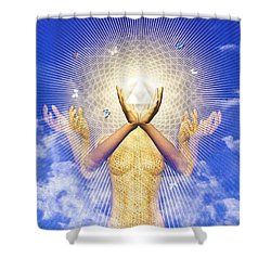 Merkaba Awakening Shower Curtain