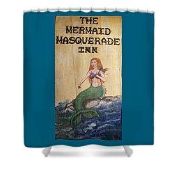 Mermaid Masquerade Inn Shower Curtain