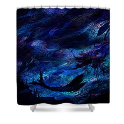 Mermaid Shower Curtain by Rachel Christine Nowicki