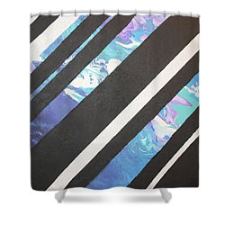 Mermaid Views Shower Curtain by Cyrionna The Cyerial Artist