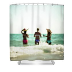 Shower Curtain featuring the photograph Mermaids by Hannes Cmarits
