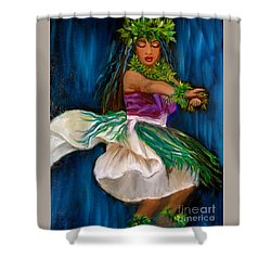 Merrie Monarch Hula Shower Curtain
