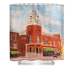 Merrimac Massachusetts Shower Curtain