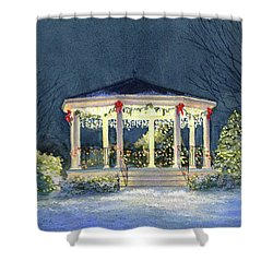 Merry And  Bright II Shower Curtain