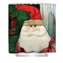 Merry Christmas Art 15 Shower Curtain