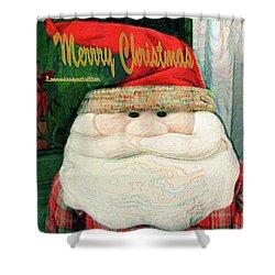 Merry Christmas Art 23 Shower Curtain