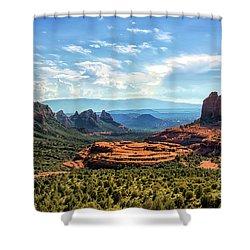 Merry Go Round Arch, Sedona, Arizona Shower Curtain