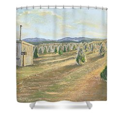Merry Valley Shower Curtain