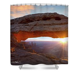 Mesa Arch, Canyonlands, Utah Shower Curtain