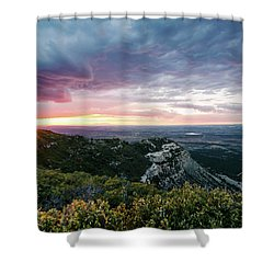 Mesa Verde Sunset Shower Curtain