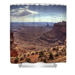 Mesas And Canyons Shower Curtain