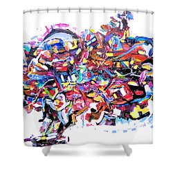 Mescalito Speedboat Shower Curtain