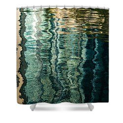 Mesmerizing Abstract Reflections Two Shower Curtain