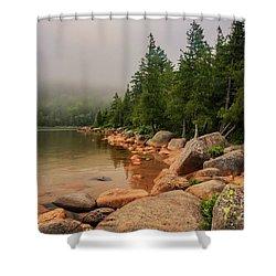 Mesmerizing Jordan Pond Shower Curtain