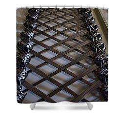 Mesmerizing Swords Shower Curtain