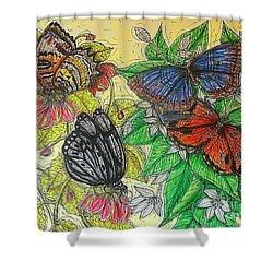 Messengers Of Beauty Shower Curtain