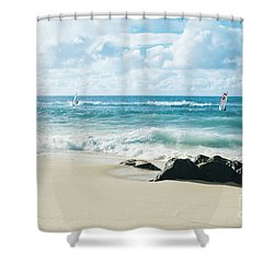 Shower Curtain featuring the photograph Messengers Of Light by Sharon Mau